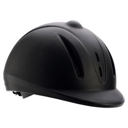 Sports Riding Hat Adult Matt Black