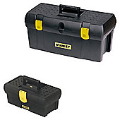 "Stanley 19"" & 12.5"" Toolbox Twin Pack"