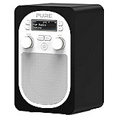 PURE EVOKE D2 BLUETOOTH DAB/FM PORTABLE RADIO (BLACK)