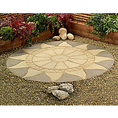 Sunstone Circle Patio Kit 2.56m Diameter