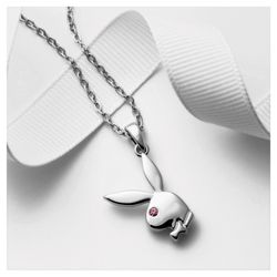 Playboy Bunny Pendant with Crystal Eye