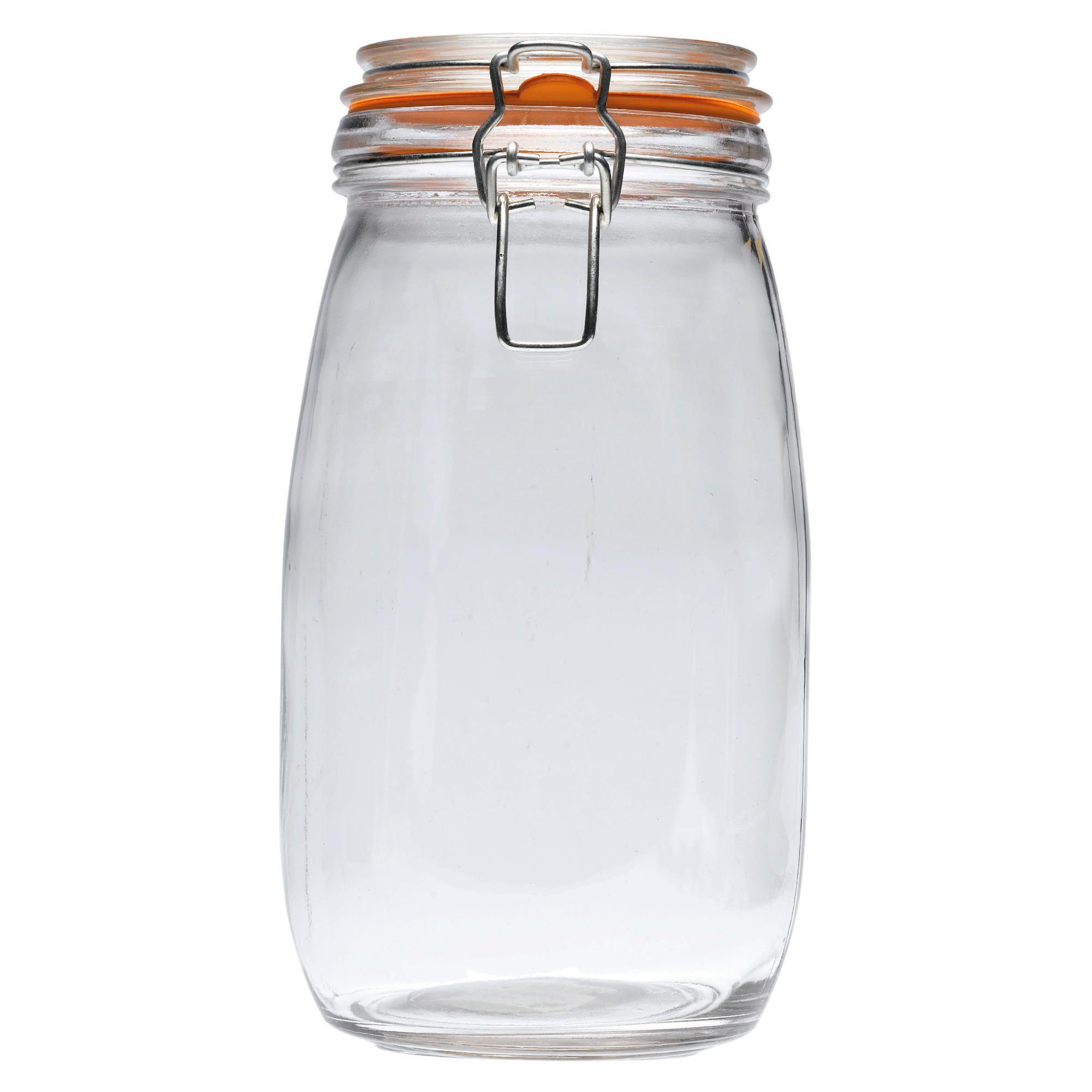 Tesco Large Clip Glass Storage
