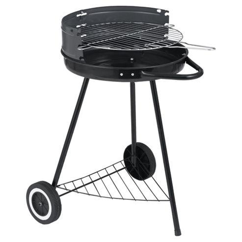 Tesco Round 42cm Charcoal BBQ