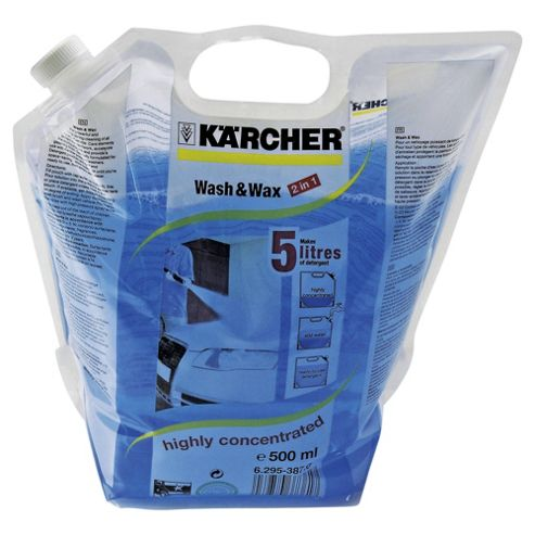 Karcher Wash & Wax Pouch, 500ml