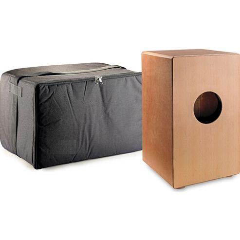 Stagg CAJ-50 Large Wooden Cajon with Bag