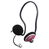 Technika Stereo 3.5mm Behind the Head multicoloured headset and microphone