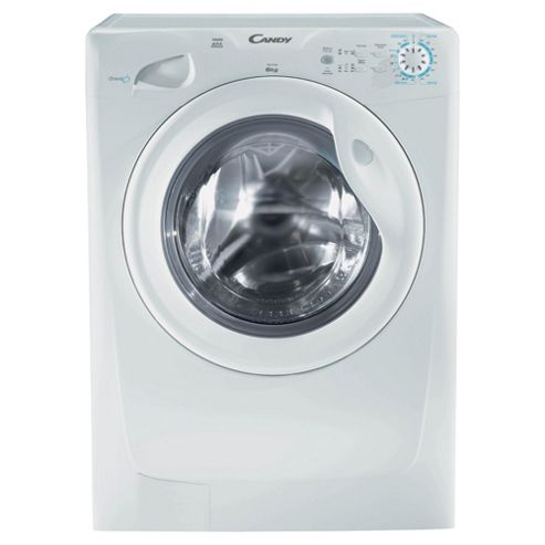 Candy GOF462 Washing Machine, 6kg Wash Load, 1400 RPM Spin, A+ Energy Rating. White