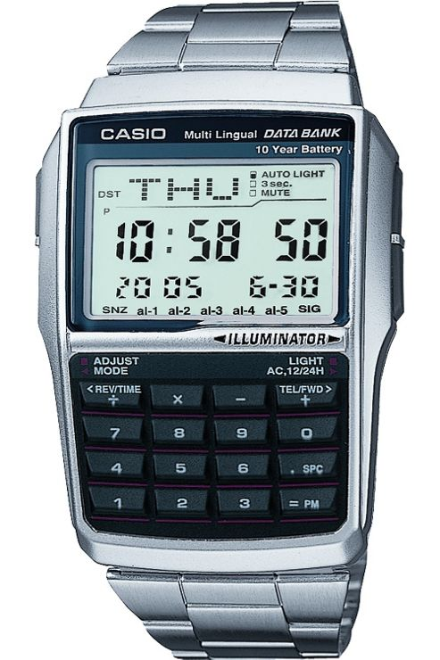 Casio DBC32D-1A Databank Watch with Calculator