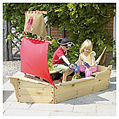 TP Jolly Roger Sandpit with Storage Area & Cover Exclusive