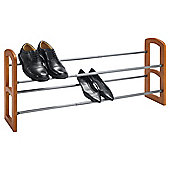 Tesco Extendable Shoe Rack