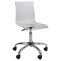 buy lotus acrylic home office chair from our office chairs range