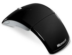 Microsoft Wireless Laser Arc Mouse For Laptop Computers