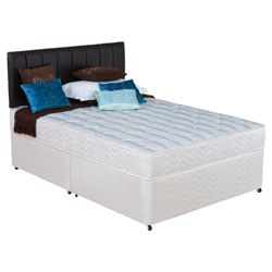 Silentnight Miracoil 3-Zone Montana Non Storage Small Double Divan Bed