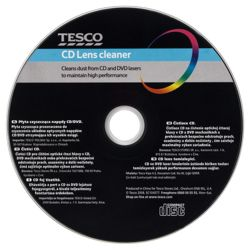 Tesco Cd / Dvd Lens Cleaner Black