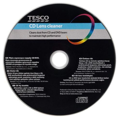 Tesco Cd / Dvd Lens Cleaner Black