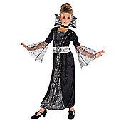 Dark Countess - Child Costume 5-8 years