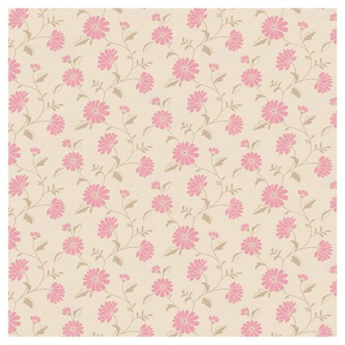 Arthouse Chelsea Pink Wallpaper