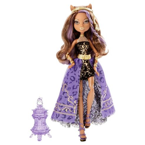 Monster High 13 Wishes Doll - Party Doll Clawdeen Wolf