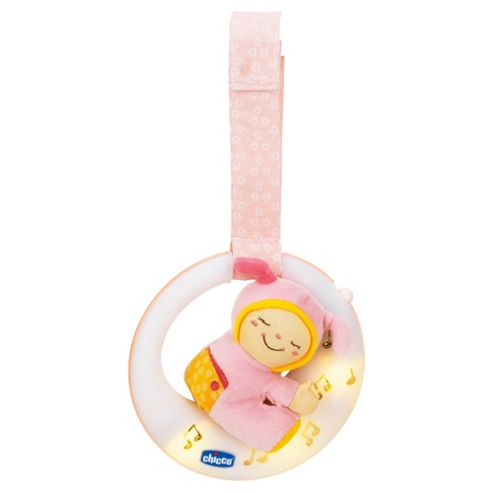 Chicco Musical Night Light Goodnight Moon Pink