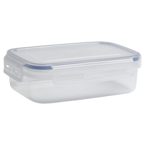 Tesco Klip Fresh 670ml Rectangular Food Container