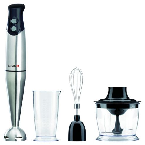 Breville VHB014 Hand Blender Set Stainless Steel