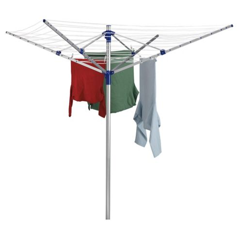 Aluminium 4 Arm Rotary Clothes Airer
