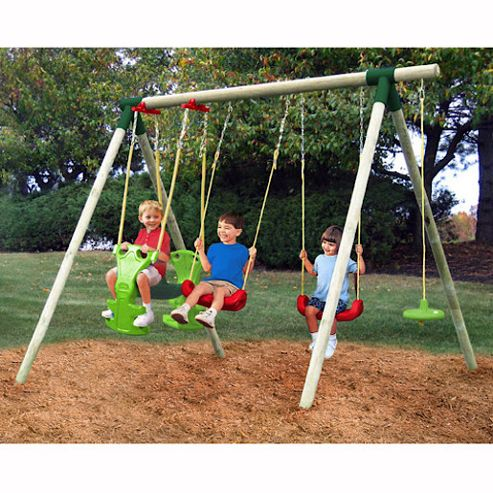 Little Tikes Stockholm Wooden Swing Set