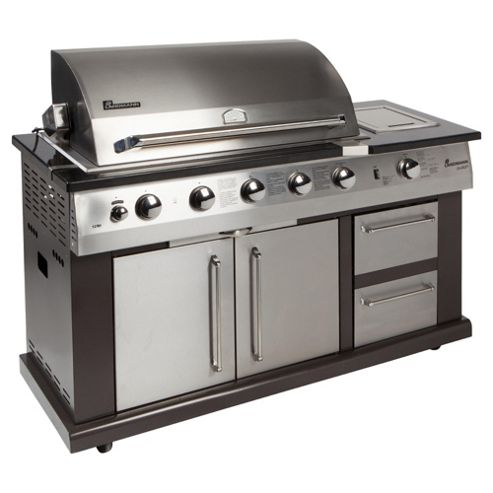 Landmann Avalon 5 Burner Gas BBQ with Infrared Rotisserie 12781