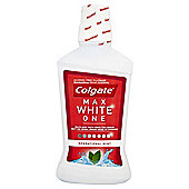 Colgate Mouthrinse Max White One 500Ml.
