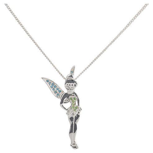 Disney Tinkerbell Multi Colour Stone Pendant