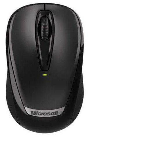 Microsoft 3000 Wireless Mobile Mouse V2 - Black