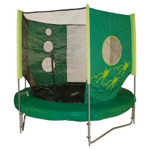 TP Activo Fun Frog 8ft Trampoline & Enclosure