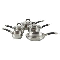Ready Steady Cook Bistro 5 piece Saucepan Set
