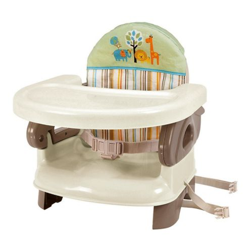 Summer Infant 2 Level Booster Seat - Safari Stripe
