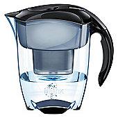 BRITA Elemaris XL 3.6 Litre Water Filter Jug, Black