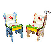 Dinosaur Kingdom 2 Chair Set