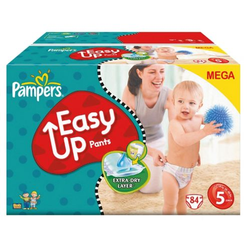 Pampers Easy Up Mega Pack Extra Large 84 size 5