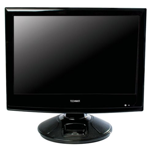 Technika 19-218 18.5 inch Widescreen HD Ready LCD TV DVD Combi & iPod Dock with Freeview
