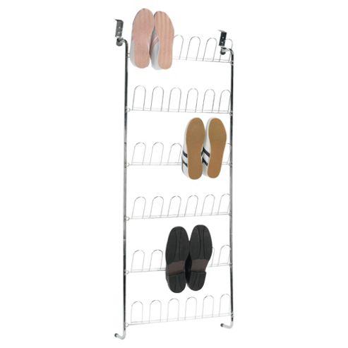 buy tesco overdoor shoe rack from our boxes range tesco. Black Bedroom Furniture Sets. Home Design Ideas