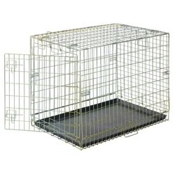 Zinc plated car crate medium