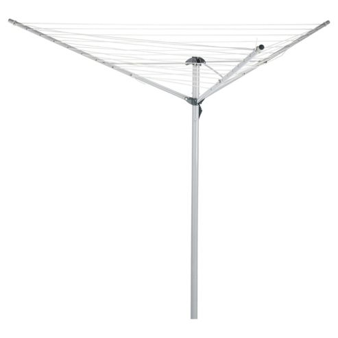 Tesco Basics 30 Meter Rotary Outdoor Clothes Airer
