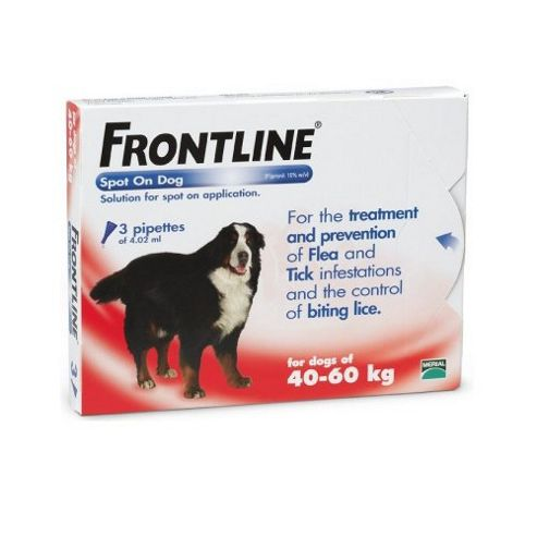 Frontline Spot On (Extra Large Dog 40-60kg) [3 pack]