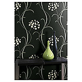 Arthouse Mia Black Wallpaper
