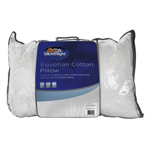 Silentnight Egyptian Cotton Pillow Twinpack