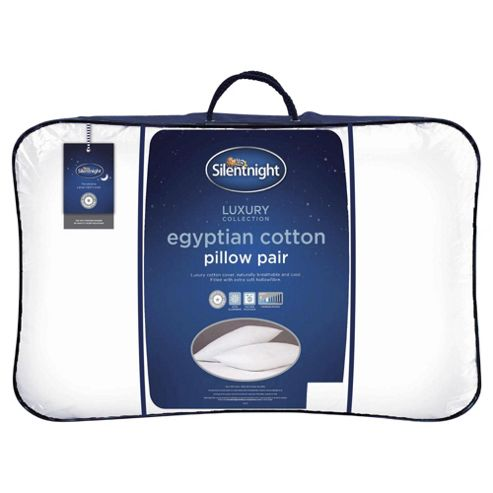 Pack of 2 Silentnight Egyptian Cotton Pillow