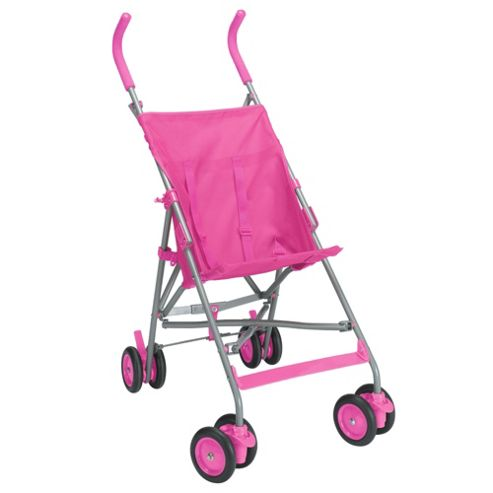 Tesco Value Kitty Buggy Pink