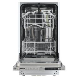 Beko DW450 Slimline dishwasher, A Energy Rating. White