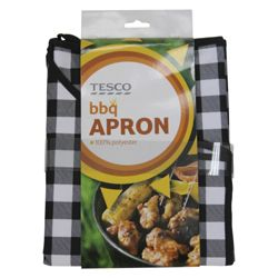 Tesco BBQ Apron Black