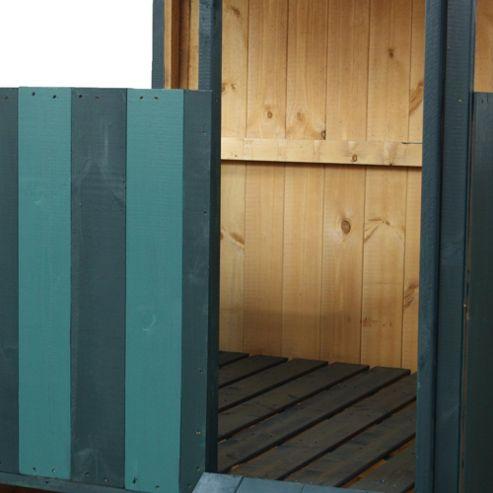 Mercia Stockade Lookout Wooden Playhouse, 4ft x 4ft