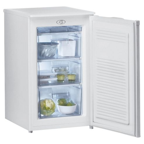 Whirlpool AFB910 Under Counter Freezer, Freezer Capacity: 80 Litres, Energy Rating A, Width 50.0cm. White